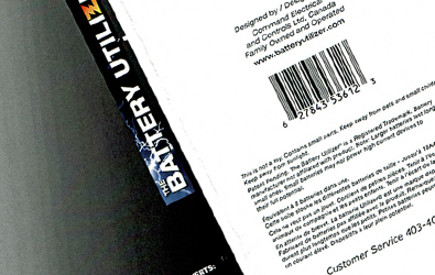 Battery Utilizer Packaging Design